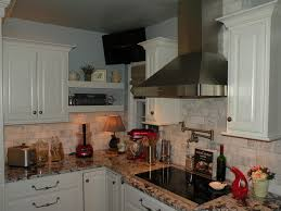 kitchens with dark cabinets and light countertops outofhome