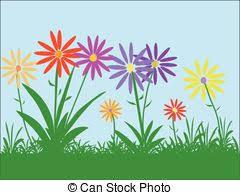flowers garden vector clip art eps images 126 374 flowers garden