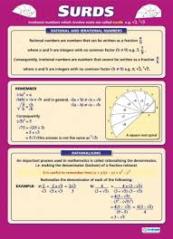 surds poster maths pinterest posters math and schools
