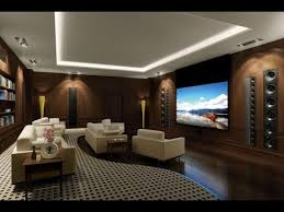 Living Room Home Theater Room Design Ideas YouTube - Living room with home theater design