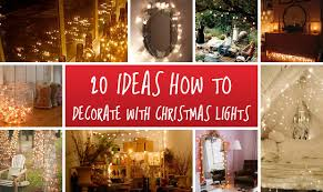 20 ideas how to decorate with christmas lights exterior and