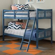 Storkcraft Caribou Bunk Bed In Navy FREE SHIPPING - Navy bunk beds