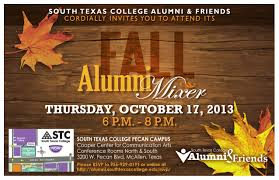 Invitation Cards For Alumni Meet Fall Alumni Mixer To Be Held Oct 17