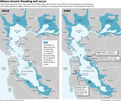 Louisiana Flood Zone Map by Scientists Expect Floods In Bay Area From Rising Seas In Coming