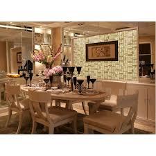 paint kitchen tiles backsplash glass tile hand paint cystal glass resin with shell tile backsplash