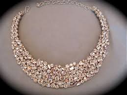 gold statement collar necklace images 57 collar statement necklace white pearl floral statement jpg