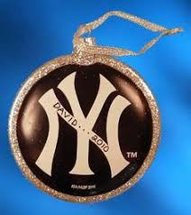 new york yankees tree ornaments sports fan gear