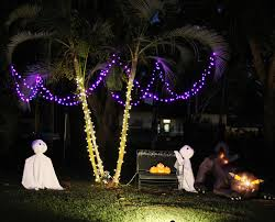 Halloween Flying Ghost Projector by Halloween Decorations Palm Tree Hawaiian Style Ghosts With Cat
