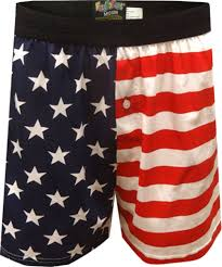 American Flag Swimming Trunks Mens Boxer Shorts Boxers And Underwear Novelty Cartoon