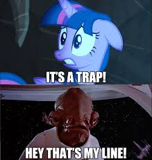 it s a trap pony meme by greenmachine987 on deviantart