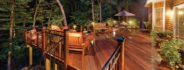 Wooden Decks And Patios Deck And Patio Lighting In Seattle Outdoor Lighting Perspectives