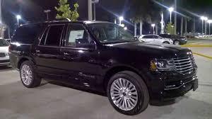 Lincoln Navigator 2015 Interior 2015 Lincoln Navigator L Youtube