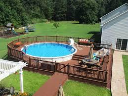 wooden pool deck kits pavillion home designs charming pool