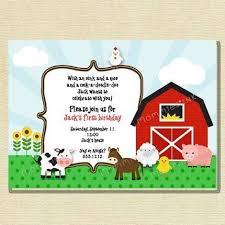 farm birthday invitations orionjurinform