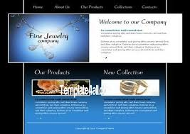 jewelry shop store flash template download