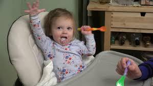 Mom In Bathtub Happy Little Boy Play With Toys In Bathtub Baby Swim In Cradle