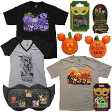 sneak peek of mickey u0027s not so scary halloween party merchandise