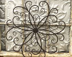 wall art ideas design flower metal garden wall art theme sample