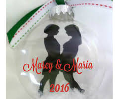 Wedding Ornaments Personalized Ornament Etsy