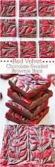 red velvet chocolate swirled brownie bars averie cooks