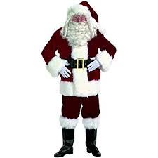 santa claus costume clothing