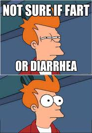 Not Sure Meme - not sure if fart or diarrhea memes and comics