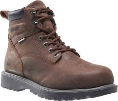womens boots work womens wolverine floorhand waterproof 6 steel toe work boot