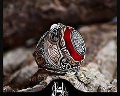 silver ring for men islam silver ring thumb ring archer ring mens ring ring mens gift