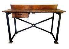 Work Table Desk Vintage Workbench Antiques Ebay