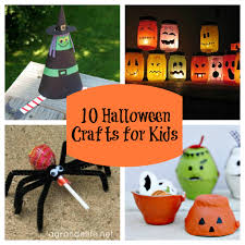 Fun Projects To Do At Home by Halloween Luminaries For Kids Crafts