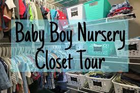 nursery closet tour dollar tree organization baby boy youtube