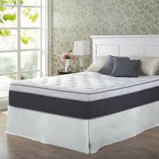 Queen Bed Frame And Mattress Set Night Therapy 13 5