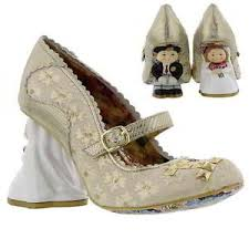 wedding shoes irregular choice irregular choice i you womens ltd edtion wedding shoes size