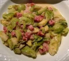 cuisiner choux de bruxelles frais choux de bruxelles lardons et moutarde kaloveme cuisine