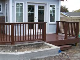 small decks with stairs home design ideas and pictures