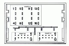 peugeot car radio stereo audio wiring diagram autoradio connector