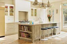 open kitchen islands shelving kitchen islands for better display of the utensils