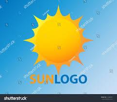 sun vector icon sol sunshine yellow stock vector 414080971