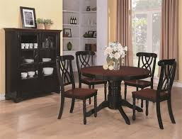 Black And Wood Chairs China U0026 Curio Cabinets