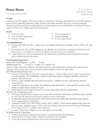 Network Administrator Resume Sample Pdf by Want To Include A Short Introduction No Rf Engineer Design