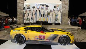 corvette racing at sebring second win for corvette c7 r