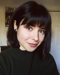 Bob Frisuren Mit Schr Em Pony by Pin By Vicki M On Hair And Bangs Haircuts