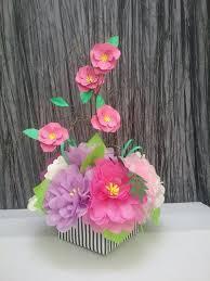 paper flower centerpieces the 25 best paper flower centerpieces ideas on