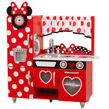Mickey Mouse Kitchen Set by Kidkraft Mickey Mouse U0026 Friends Pretend Play Kitchens Ebay