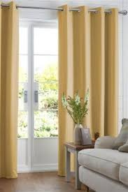 buy curtains and blinds curtains yellow black out blackout from