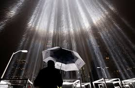 lighting world staten island 9 11 anniversary tribute of light rises in new york daily mail online