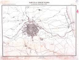 Map Of Spain And Surrounding Countries by Detailed Old Map Of Valencia City And The Surrounding Area U2013 1808