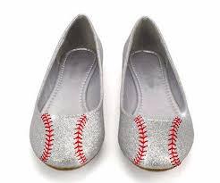 wedding shoes glitter sparkly glitter silver baseball ballet flats wedding