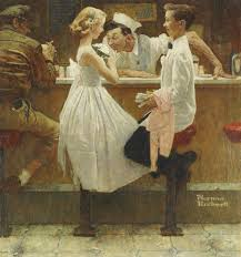 norman rockwell s after the prom recently sold for 9 125 000