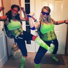 Ninja Turtle Halloween Costume Girls Homemade Halloween Ideas Coolest Kind Cards